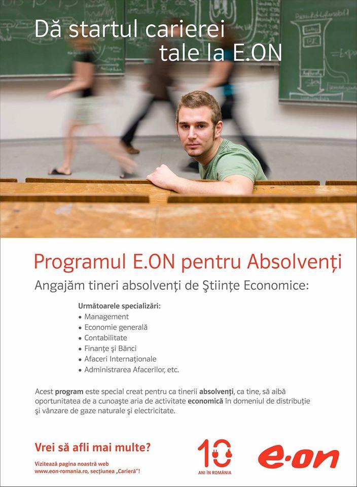 E.ON Graduate Program -Trainee - Romania